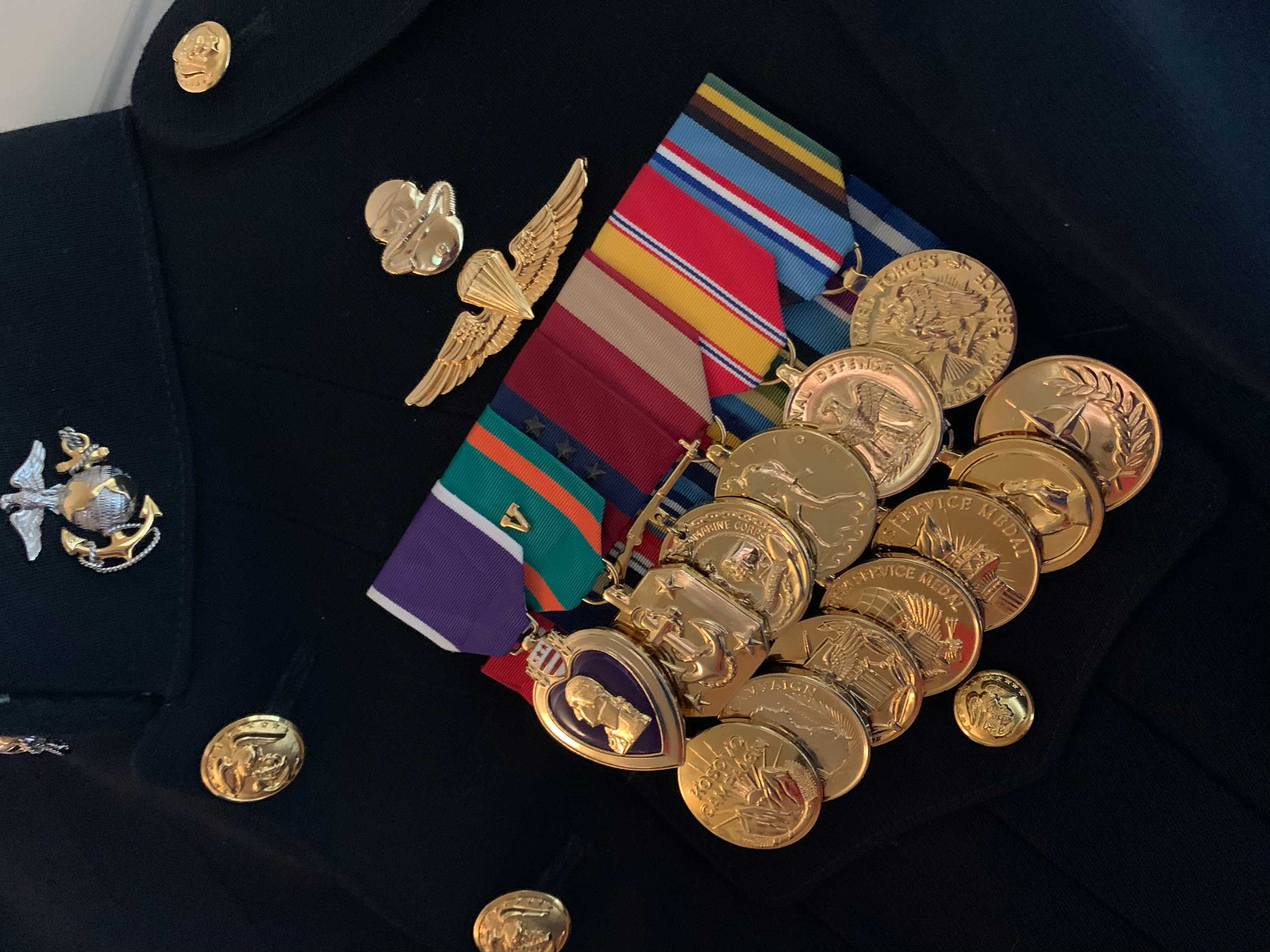 Ike McCorkle Medals