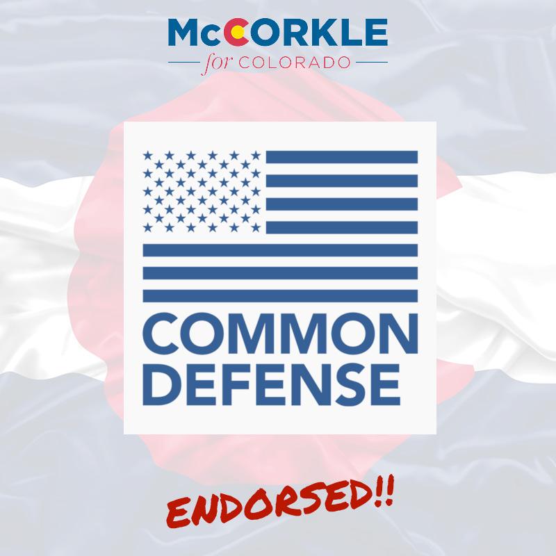 Common Defense Endorsement