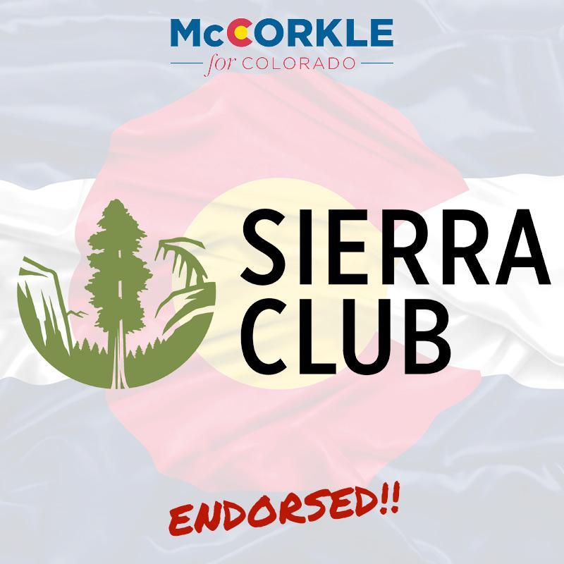 Sierra Club Endorsement